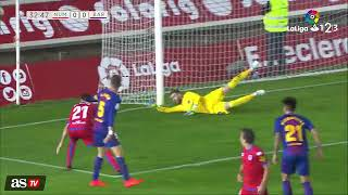 Video Gol Pertandingan Numancia vs Barcelona B