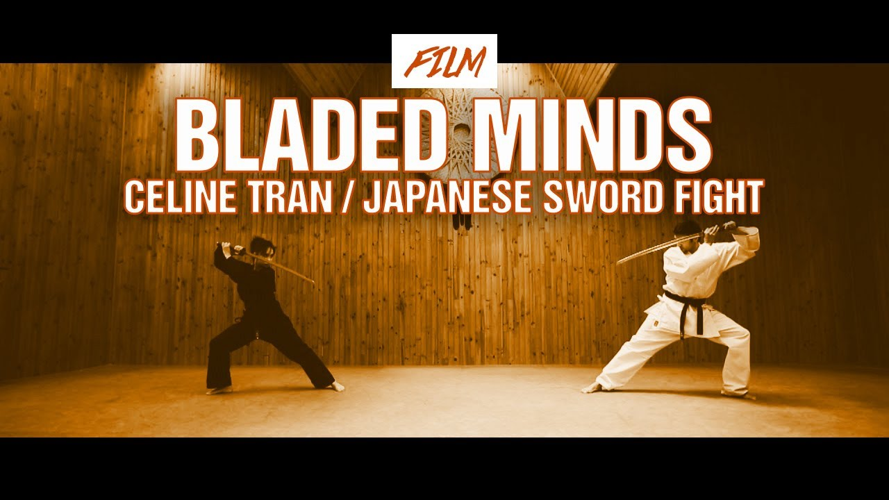 Bladed Minds Celine Tran Japanese Sword Fight Youtube
