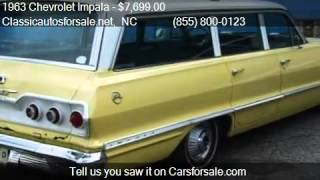 1963 Chevrolet Impala Station Wagon for sale in Nationwide, #VNclassics