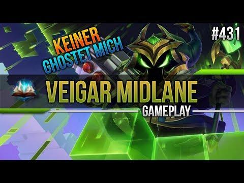 Veigar (Mid): Keiner Ghostet mich! #431 [Lets Play] [League of Legends] [German / Deutsch]