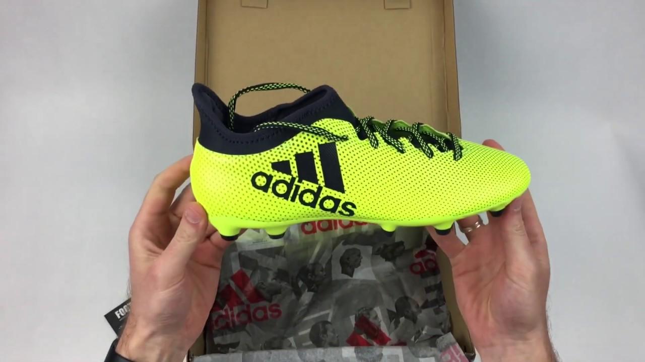 e34ecfc0 Распаковка: футбольные бутсы adidas X 17.3 FG - артикул S82366 (оригинал).