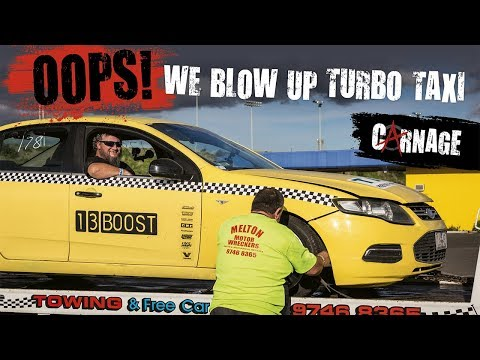 Carnage Episode 15  Turbo Taxi Part8  We Blow The Engine