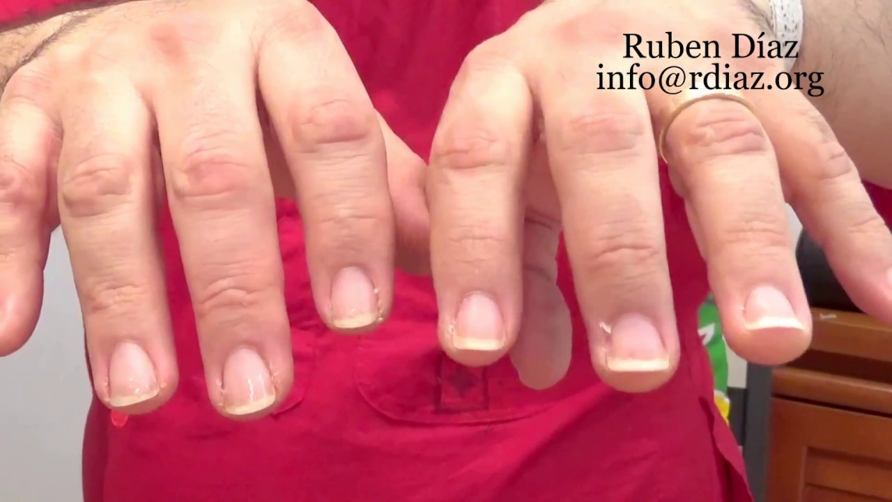 Too short left & too long right hand finger nails length means old ...