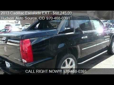 2013 cadillac escalade ext luxury for sale in silverthorne youtube. Black Bedroom Furniture Sets. Home Design Ideas