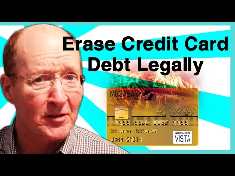 Steps On How to Erase Credit Card Debt Legally