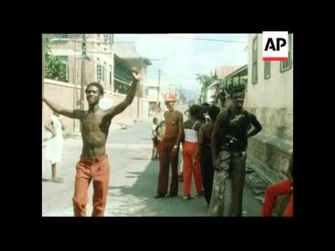 Gun Violence After The Government  Elections In Jamaica -  1980