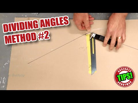 Dividing angles for woodworking - parallel board method - GHTL#27 [153]