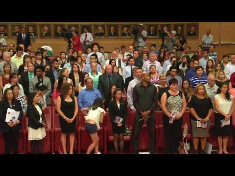 The Naturalization Ceremony - June 23, 2016