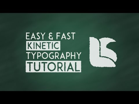 Fast & Easy Kinetic Typography Tutorial | After Effects