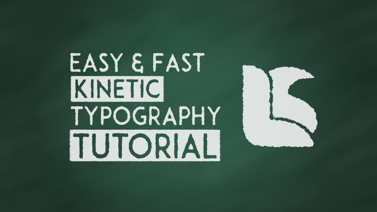 fast easy kinetic typography