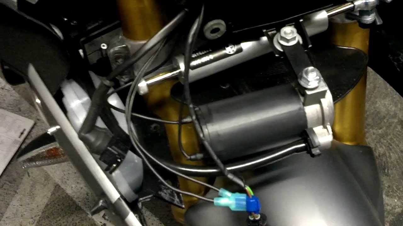 Installing Screaming Banshee Horn On A 2013 Bmw S1000rr
