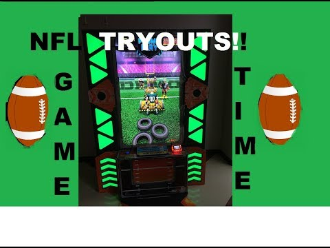 NFL tryouts | Arcade games | Gridiron Blitz