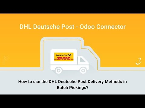 3 - How To Use The DHL Deutsche Post Delivery Methods In Batch Pickings?