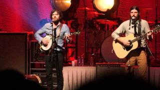 "Avett Brothers ""All My Mistakes"" Peabody Opera House, St. Louis, MO 02.20.14"
