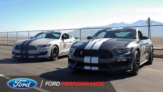 That Dude In Blue Takes on Track Attack  Shelby GT350  Ford