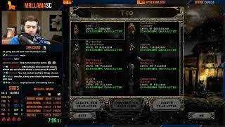 Diablo 2 - Hell Amazon Speedrun - WR Attempt #2