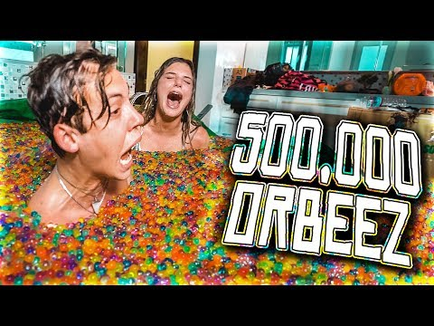 500,000 ORBEEZ IN A TUB W/ ALISSA VIOLET