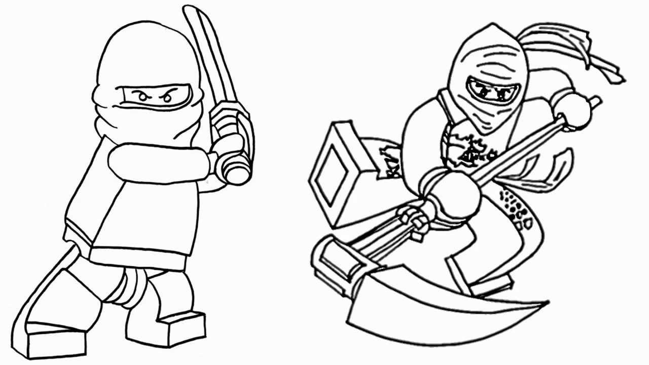 How to Draw Kai the Red Ninja from Lego Ninjago: Masters of ...