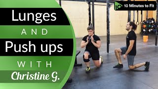 Buns and Guns | Lunges and Push ups with Christine (49)