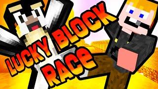 Minecraft - Lucky block RACE!!!! [AZ ÖSSZECSAPÁS!]