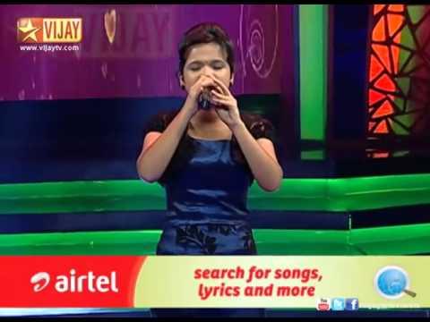 Copy of Super Singer   Parvathy sings Unna Vida