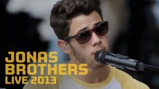 Secrets of the Jonas Brothers Soundcheck Party - Live 2013