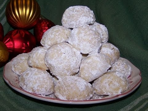 Snowball Cookie Recipe - Gluten Free