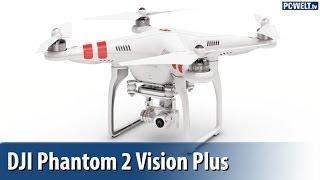 AR.Drone-Konkurrent: DJI zeigt neue Drohne Phantom 2 Vision Plus | deutsch / german