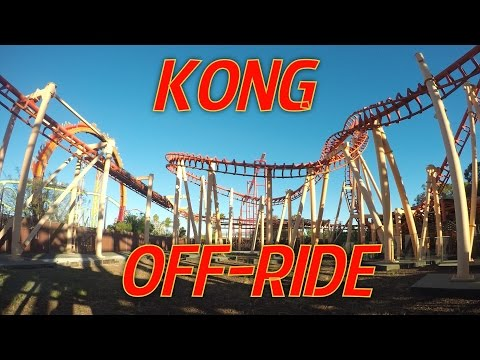 Kong at Six Flags Discovery Kingdom Off Ride 1080p 60fps