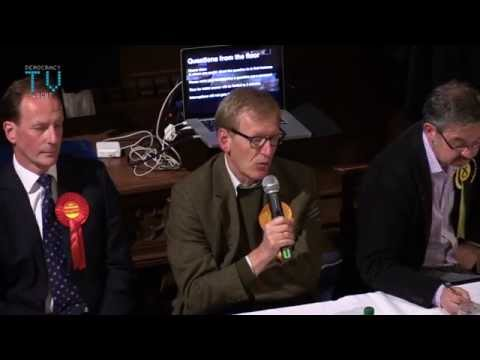 Conversation not Confrontation - Hustings from Greenock.