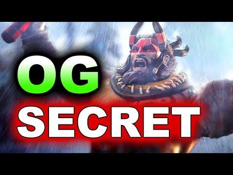 SECRET vs OG - AMAZING FIGHT! - EPICENTER MAJOR DOTA 2