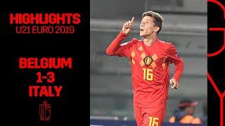 U21 U21EURO 2019 Belgium Italy 1 3