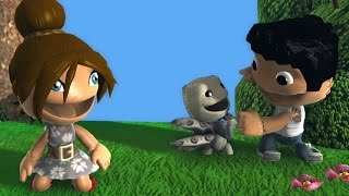 An Unexpected Friend - LittleBigPlanet 2 Animation LBP3 PS4