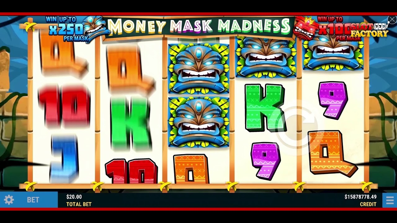 Money Mask Madness Slot Play Free ▷ RTP 94% & Low Volatility video preview