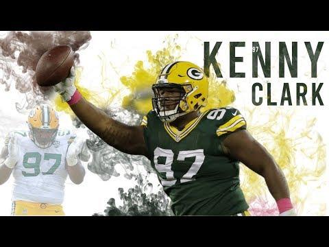 super popular 07b90 cbc70 Kenny Clark | Career Highlights | Green Bay Packers