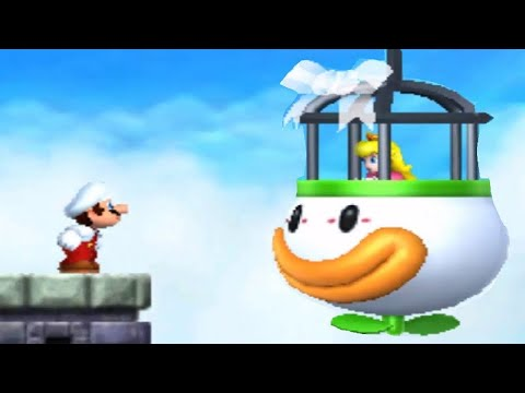 New Super Mario Bros. 2 - All Castles And Towers