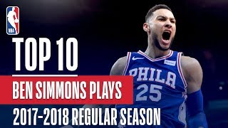 Ben Simmons 17'-18' Rookie Of The Year | Top 10 Plays Of The Season