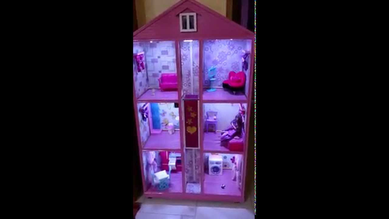 La casa di barbie fatta da me youtube for Casa di barbie youtube
