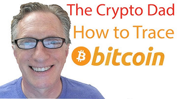 How to Trace a Bitcoin Transaction using a Bitcoin receiving address