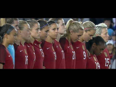 (1) USWNT vs England 3.7.2018 / SheBelieves Cup 2018