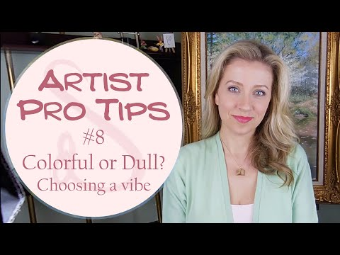 Artists Pro Tips -  Colorful or Dull? Being Specific with Color Emotion and Vibe