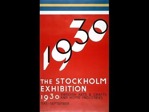 THE STOCKHOLM FUNCTIONAL STYLE EXHIBITION - 1930 - Stockholmsutställningen 1930