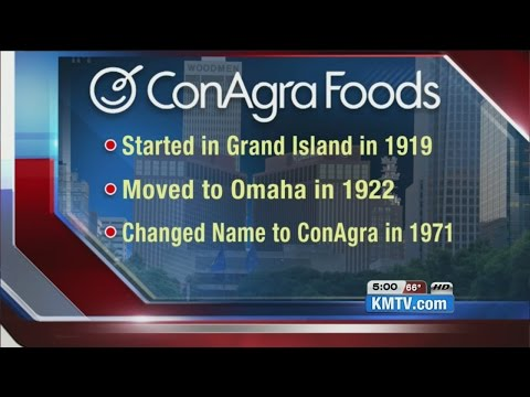 History of ConAgra in Omaha