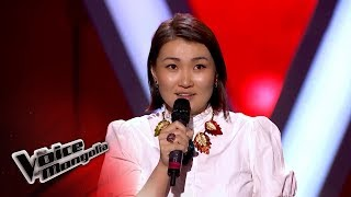 "Zoljargal.B - ""Immortality"" - Blind Audition - The Voice of Mongolia 2018"