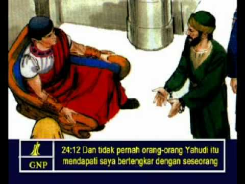 Acts 24 Indonesia Picture Bible