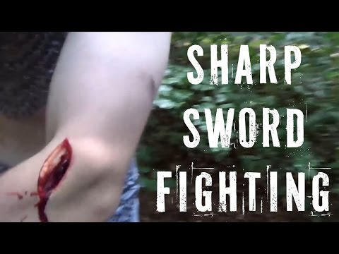 THIS IS INSANE!!! The HEMA group that fights with sharp swords!!!