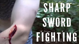 Video THIS IS INSANE!!! The HEMA group that fights with sharp swords!!! download MP3, 3GP, MP4, WEBM, AVI, FLV Juni 2018