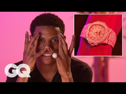 A Boogie Wit Da Hoodie Shows Off His Insane Jewelry Collection | On the Rocks | GQ