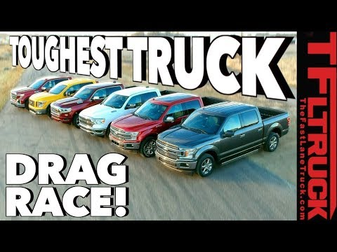 What s the Fastest Half Ton You Can Buy World s Toughest Truck Drag Race 1