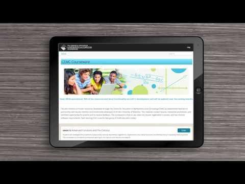 CEMC online mathematics courseware